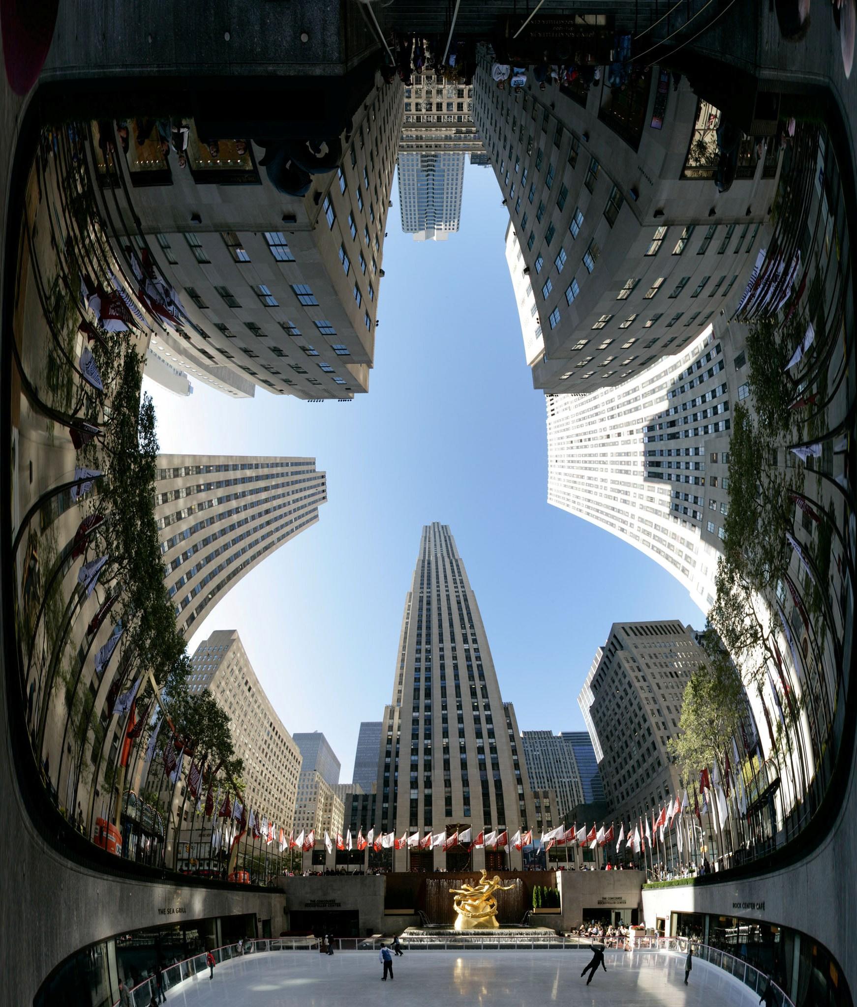 Rockefeller Center: La Atlántida Global y sus símbolos   Imagología