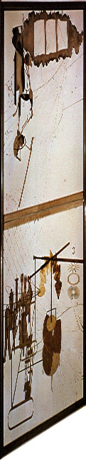 large glass distort