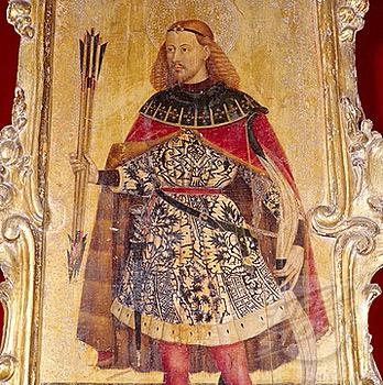 San Sebastián con el rostro de Auxias March