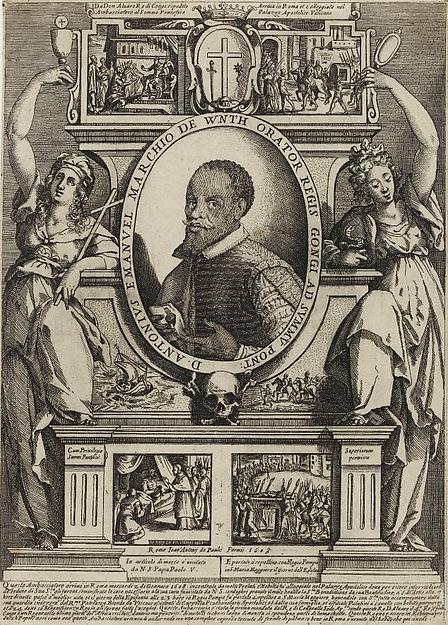 D. Antonius Emanuel Marchio de Wnth Orator Regis Gongi ad Summu[m] Pont