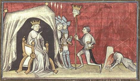 Du Guesclin III muerte de Pedro